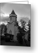 Sacred Photo Greeting Cards - Church Grove Greeting Card by Aidan Moran
