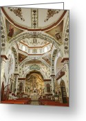 Art Of Building Greeting Cards - Church of Santa Domingo de Guzman Greeting Card by Jeremy Woodhouse