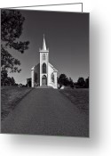 Praying Greeting Cards - Church St Teresas of Avila  Greeting Card by Garry Gay