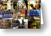Robert C. Glover Jr Greeting Cards - Cincinnati Details Sampler Greeting Card by Robert Glover