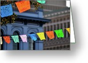 Giving Greeting Cards - Cinco De Mayo Greeting Card by Allison Achauer