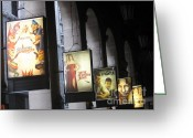 Italian Cinema Greeting Cards - Cinematic Greeting Card by Jennifer Sabir