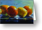 Online Art Gallery Greeting Cards - Citrus Greeting Card by Penelope Moore