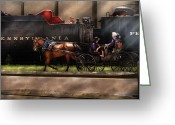 Amish Greeting Cards - City - Lancaster PA - You got to love Lancaster Greeting Card by Mike Savad