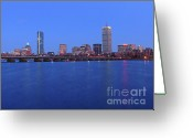March Greeting Cards - City Dreams Greeting Card by Juergen Roth