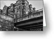 Arlington Memorial Bridge Greeting Cards - City Hall at GWU Greeting Card by Jim Moore