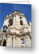 City Hall Greeting Cards - City Hall Pasadena-California Greeting Card by Glenn McCarthy Art and Photography