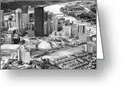 Mellon Arena Greeting Cards - City of Champions Greeting Card by Emmanuel Panagiotakis
