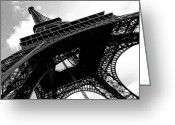 Eiffel Tower Greeting Cards - City of Love Greeting Card by Thomas Splietker