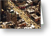 Manhattan Greeting Cards - Cityscape Greeting Card by Andreas Schott (Bonnix)