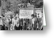 Civil Rights Photo Greeting Cards - Civil Rights March, 1963 Greeting Card by Granger