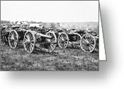 Peninsular Greeting Cards - Civil War: Parrott Guns Greeting Card by Granger