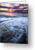Puget Sound Greeting Cards - Civilization Forgotten Greeting Card by Mike  Dawson