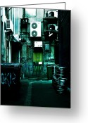 Pipe Photo Greeting Cards - Clandestine Greeting Card by Andrew Paranavitana