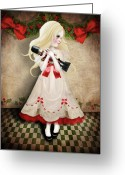 Jessica Grundy Greeting Cards - Clara and the Nutcracker Greeting Card by Jessica Grundy