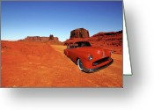 Desert Rat Photo Greeting Cards - Clashing With Nature Greeting Card by Bill Dutting