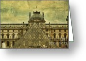 Paris Greeting Cards - Classic Contradiction Greeting Card by Andrew Paranavitana