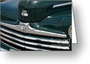 Sportscars Greeting Cards - Classic Ford Super Deluxe 8 . 7D15265 Greeting Card by Wingsdomain Art and Photography