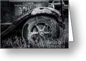 Street Rod Photo Greeting Cards - Classic International Greeting Card by Perry Webster