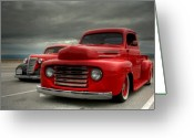 Drag Greeting Cards - Classic Greeting Card by Patrick English