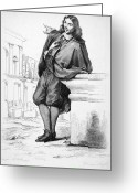 Perrault Greeting Cards - Claude Perrault (1613-1688) Greeting Card by Granger