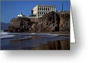 Pacific Ocean Photo Greeting Cards - Cliff House San Francisco Greeting Card by Garry Gay