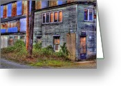 Tacoma Greeting Cards - Closed for Business Greeting Card by David Patterson