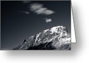 Norwegian Greeting Cards - Cloud Formation Greeting Card by David Bowman