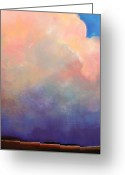 "\\\\\\\""storm Prints\\\\\\\\\\\\\\\"" Painting Greeting Cards - Cloud Light Greeting Card by Toni Grote"