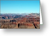 Physical Geography Greeting Cards - Cloud Over Grand Canyon Greeting Card by @Niladri Nath