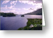 Purple Clouds Greeting Cards - Clouds over Loch Awe Greeting Card by Jan Faul
