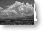 Lanscape Photo Greeting Cards - Clouds over the Karoo Greeting Card by Terence Davis