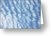 Cumulus Greeting Cards - Clouds Greeting Card by Richard Newstead
