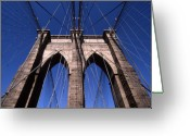 Bridge Greeting Cards - Cnrg0409 Greeting Card by Henry Butz