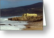Ancient Architecture Greeting Cards - Coast Fort Greeting Card by Carlos Caetano