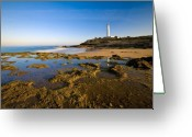 Luz Greeting Cards - Coast of Light Greeting Card by Neil Buchan-Grant