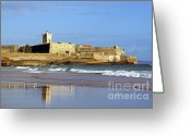 Ancient Architecture Greeting Cards - Coastal Defense Greeting Card by Carlos Caetano