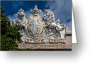 Christopher Holmes Greeting Cards - Coat Of Arms Greeting Card by Christopher Holmes