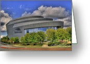 Photographers Ellipse Greeting Cards - Cobb Energy Center Greeting Card by Corky Willis Atlanta Photography