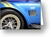 Carroll Shelby Photo Greeting Cards - Cobra Classic Greeting Card by Karyn Robinson