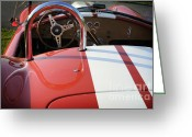Carroll Shelby Photo Greeting Cards - Cobra Greeting Card by Luke Moore