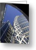 Cocoon Greeting Cards - Cocoon Tower Greeting Card by Igor Kislev
