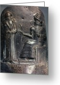 B.c Greeting Cards - Code Of Hammurabi (detail) Greeting Card by Granger