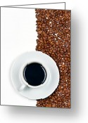 Taste Greeting Cards - Coffee Greeting Card by Gert Lavsen
