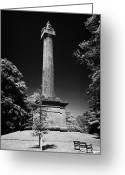 Cole Photo Greeting Cards - Cole Memorial Monument Enniskillen Greeting Card by Joe Fox