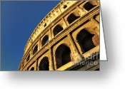 Romans Greeting Cards - Coliseum. Rome Greeting Card by Bernard Jaubert
