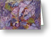 Designers Choice Painting Greeting Cards - Collision Painting Greeting Card by Don  Wright