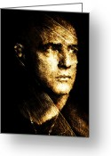 Marlon Brando Greeting Cards - Colonel Kurtz Greeting Card by Andrea Barbieri
