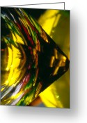 Mood Glass Art Greeting Cards - Color And Light Greeting Card by Etti Palitz