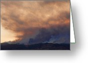 Striking Photography Greeting Cards - Colorado Rockies on Fire Greeting Card by James Bo Insogna
